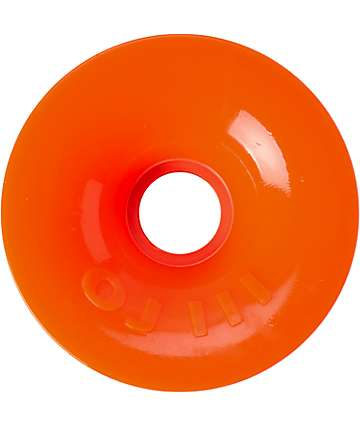 OJ III 75mm Orange Thunder Juice Longboard Wheels