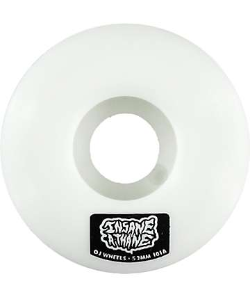 OJ Insane-A-Thane EZ Edge 52mm Skateboard Wheels