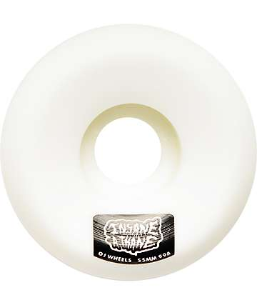 OJ Insaneathane 55mm Hard Line Skateboard Wheels