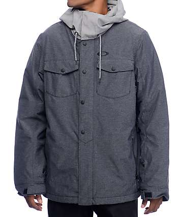 Oakley Division BZI Blue Mirage 10K Snowboard Jacket