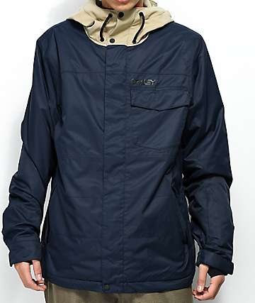 Oakley Division Navy BioZone 10K Snowboard Jacket