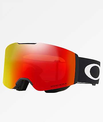 Oakley Fall Line Black Prizm Torch Irid Snowboard Goggles