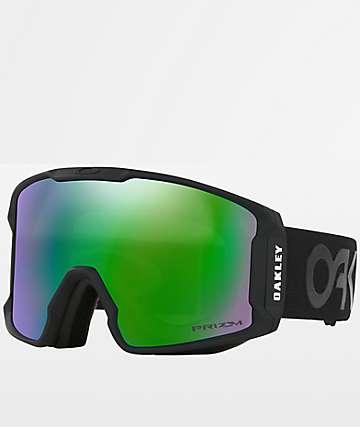 Oakley Line Miner PRIZM Factory Jade Iridium Snowboard Goggles