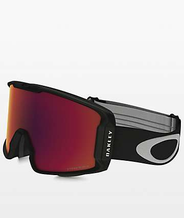 Oakley Line Miner PRIZM Factory Torch Iridium Snowboard Goggles