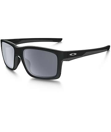 Oakley Mainlink Matte Black & Grey Sunglasses