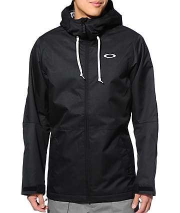 Oakley Recon Black 10K Snowboard Jacket