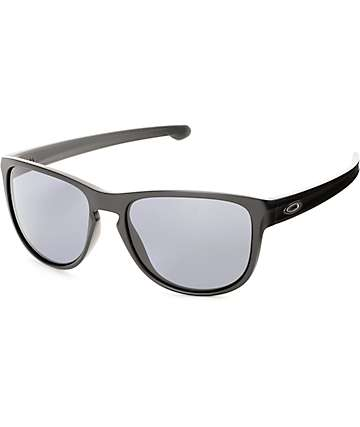Oakley Sliver R Matte Black & Grey Sunglasses