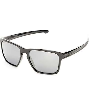 Oakley Sliver XL Polished Black & Black Iridium Sunglasses