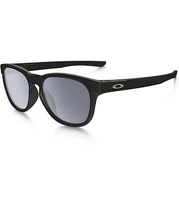 Oakley Stringer Matte Black & Grey Sunglasses
