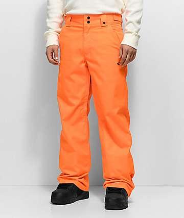 Oakley Sun King BioZone 10K pantalones de snowboard en color naranja neón