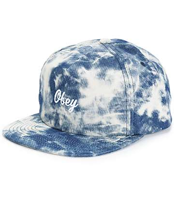 Obey Acid Strapback Hat