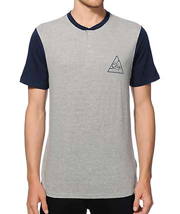 Obey Angle Henley T-Shirt
