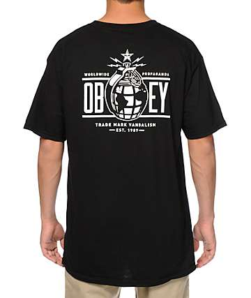 Obey Annexation T-Shirt