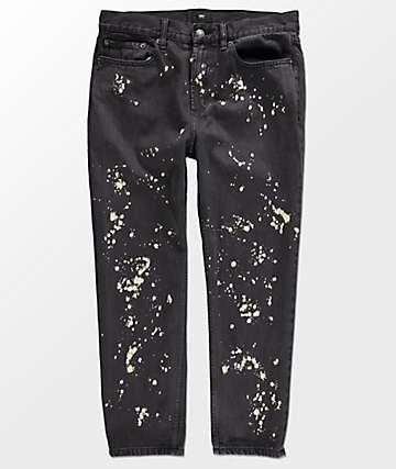 Obey Bender 90s Bleached Black Jeans