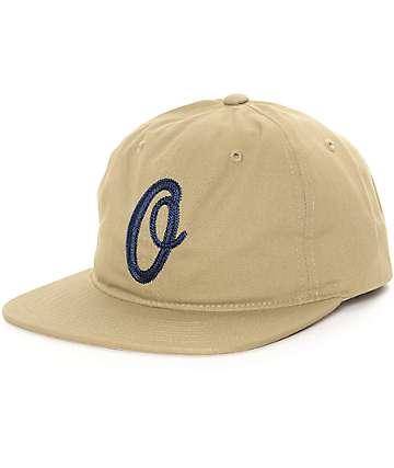 Obey Blunt Khaki Strapback Hat