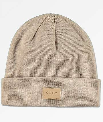 Obey Briean Fawn Beanie