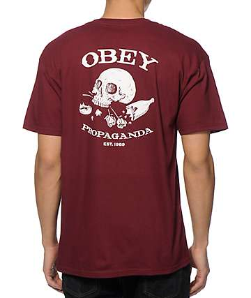 Obey Broken Bottles & Hearts T-Shirt