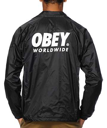 Obey Capsule Coach Jacket