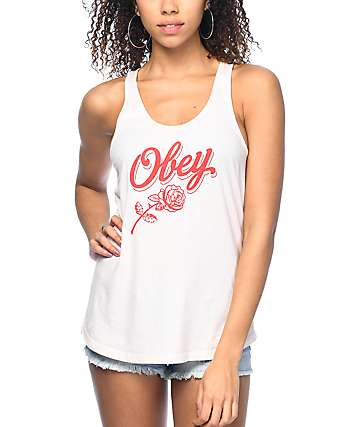 Obey Careless Whispers Liberty Tank Top