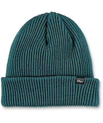 Obey Caster Spruce Green Beanie