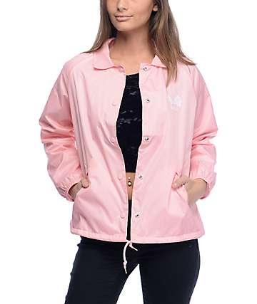 Obey Caviar chaqueta entrenador en rosa