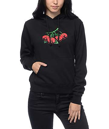 Obey Cherries Black Hoodie