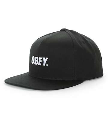 Obey Civic Snapback Hat