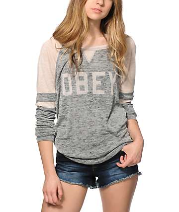 Obey Collegiate 2 Long Sleeve Shirt