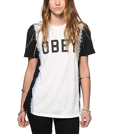 Obey Collegiate Obey 2 Tie Dye T-Shirt