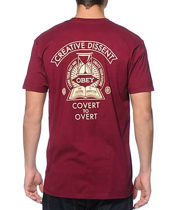 Obey Covert To Overt T-Shirt
