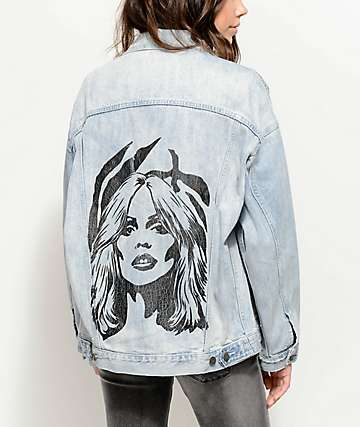 Obey Debbie Harry Tompkins Denim Jacket