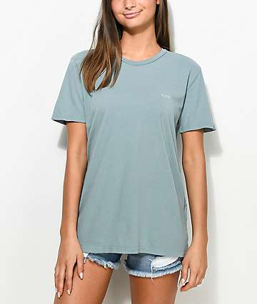 Obey Defiant Rose Drifter Olive T-Shirt