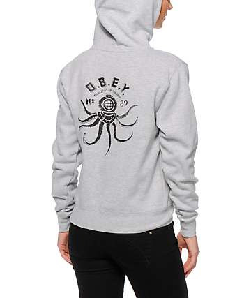 Obey Denizens Of The Deep Hoodie