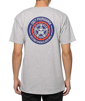 Obey Destroy Rebuild Destroy T-Shirt