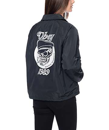 Obey Devious Coaches Jacket