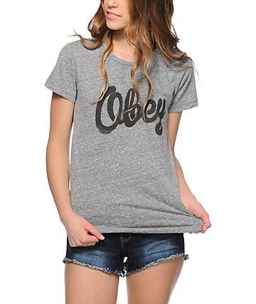 Obey Dewallen Stencil T-Shirt