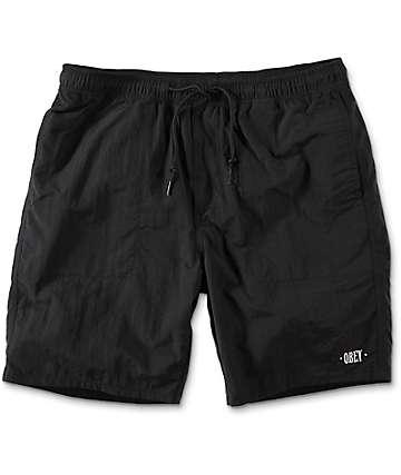 Obey Dolo Black Shorts