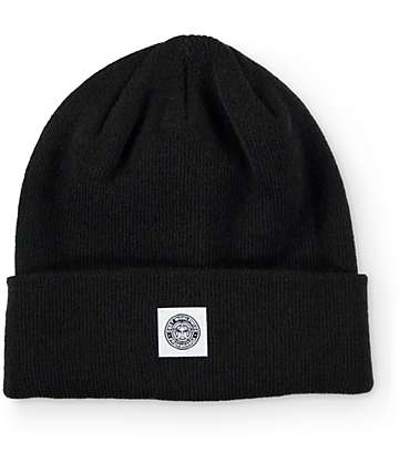 Obey Downtown Gas Station Black Fold Beanie