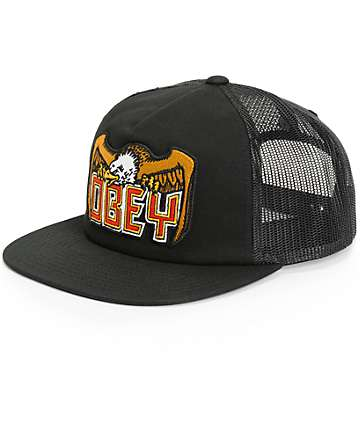 Obey Eagle Eye Trucker Hat