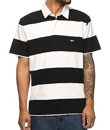 Obey Eastcoast Striped Polo T-Shirt