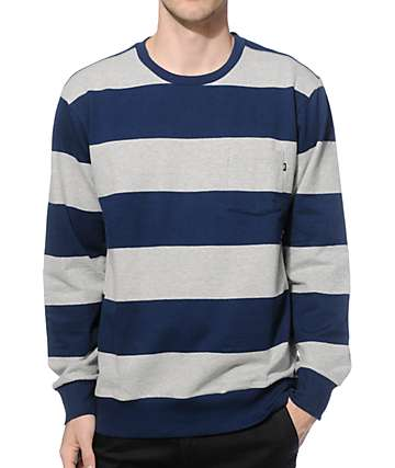 Obey Edinburgh Crew Neck Pocket Sweatshirt