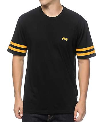 Obey Era Black T-Shirt