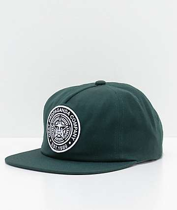 Obey Established 89 gorra snapback en verde de picea