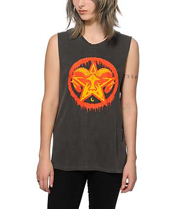 Obey Evil Deeds Muscle Tee