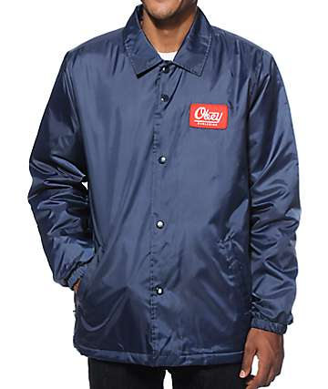 Obey Graves Coach Jacket