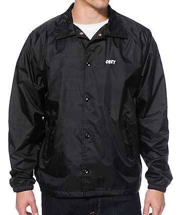 Obey Graveyard Coach Jacket