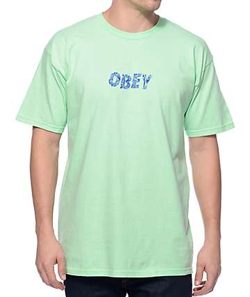 Obey Graveyard Mint T-Shirt