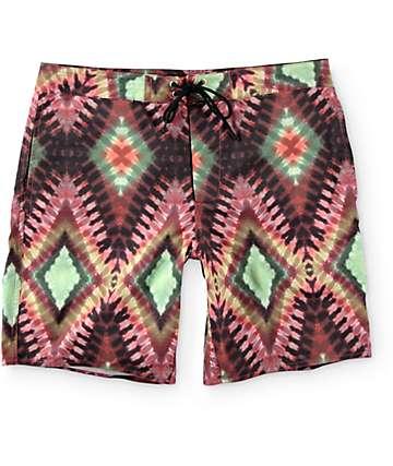 Obey Havana Tie Dye Hybrid Shorts