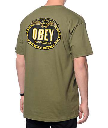 Obey Imperial Glory Dark Green T-Shirt