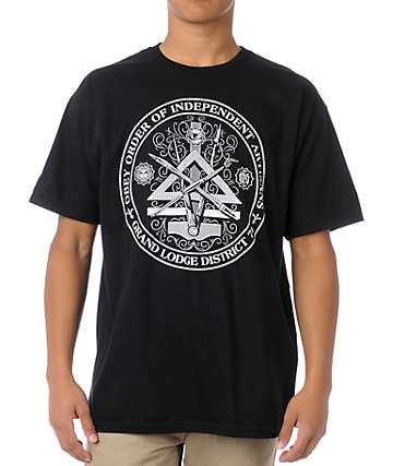 Obey Independent Artists Black T-Shirt